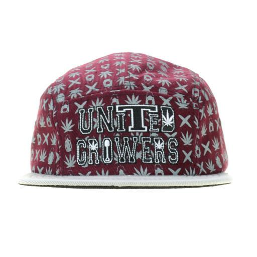United Growers 5 Panel Snapback