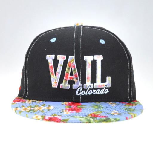 Vail Floral Snapback