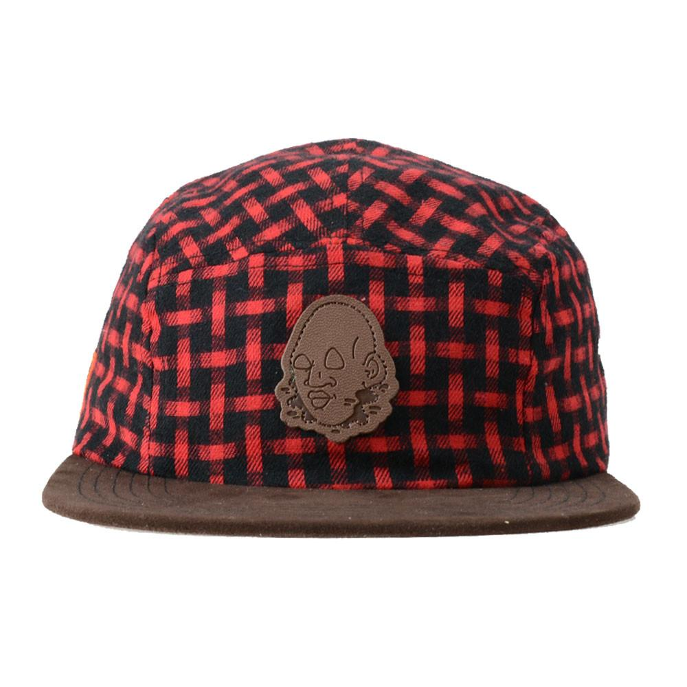 Voorhees Flannel 5 Panel Snapback - Grassroots California - 1