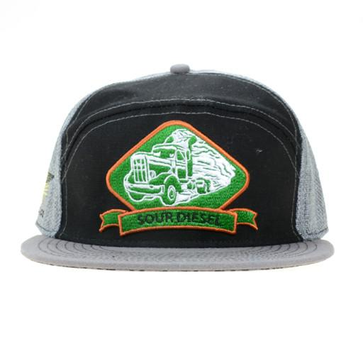 Walking Raven Smokeshop 6 Panel Sour Diesel Fitted