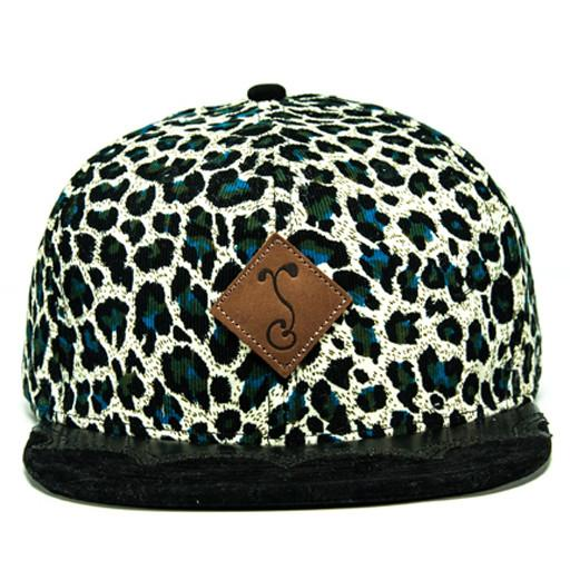 Wingtip Cheetah Fitted - Blue