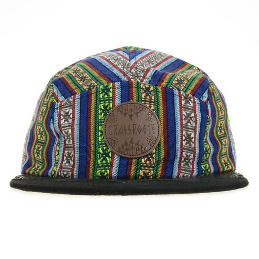 Wingtip Native Cactus 5 Panel Snapback - Grassroots California - 1
