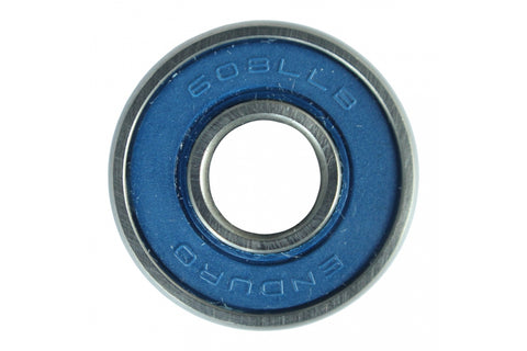 Enduro Sealed Cartridge Bearing 608 LLB - ABEC3 (Pair) - Retro Road