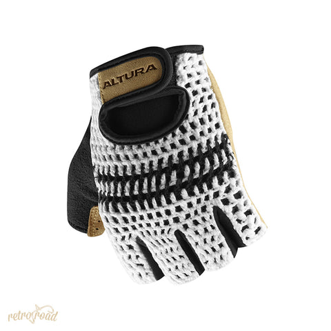 Altura Classic 2 Crochet Mitts - Tan - Retro Road