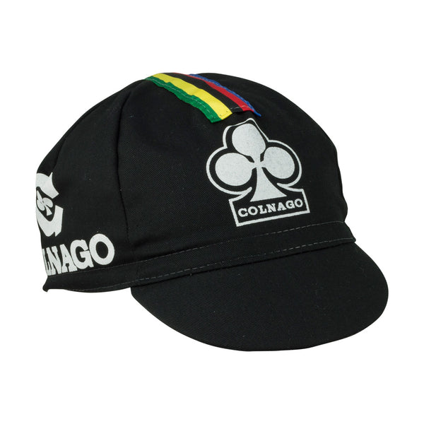 Colnago Cotton Cap - Black - Retro Road
