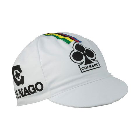 Colnago Cotton Cap - White - Retro Road