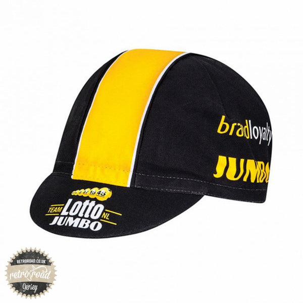 Team Lotto Jumbo Cycling Cap - Retro Road
