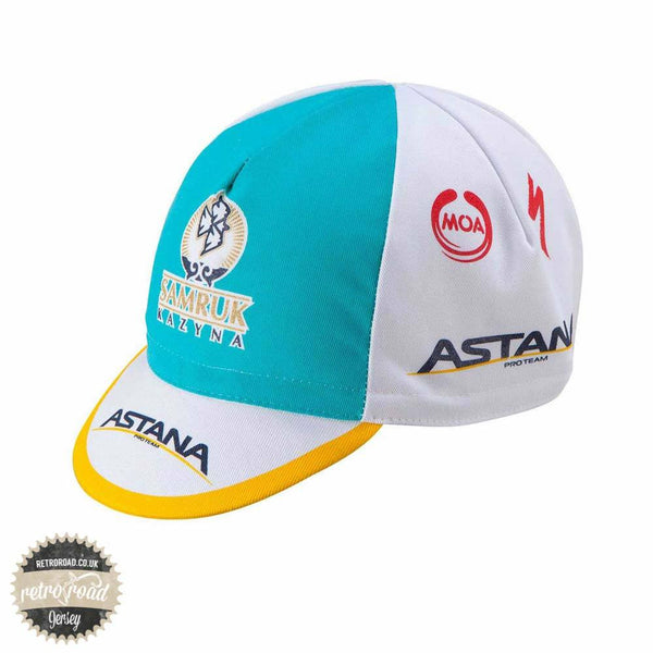 Astana Cotton Cap - Retro Road