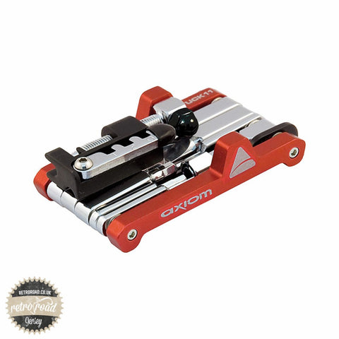 Axiom Tuck 16 Mini Tool - Red - Retro Road