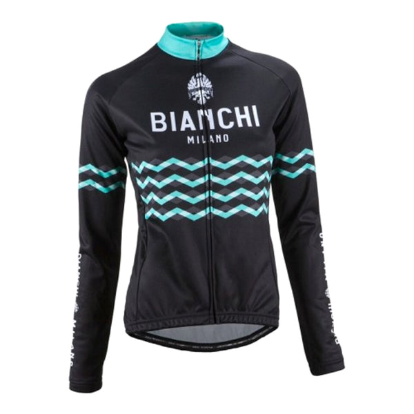 Bianchi Ridanna Ladies Long Sleeved Jersey - Retro Road
