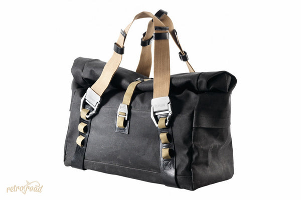 Brooks Hampsteas Holdall Bag - Asphalt - Retro Road