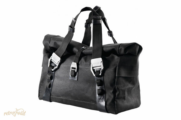 Brooks Hampsteas Holdall Bag - Black - Retro Road