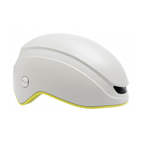 Brooks Island Helmet - White/Lime - Retro Road