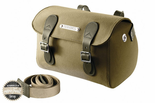 Brooks Millbrook Handlebar/Saddle Bag - Olive - Retro Road