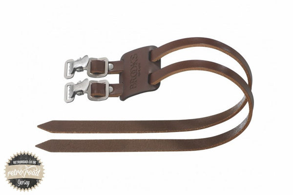 Brooks Toe Straps - Brown - Retro Road