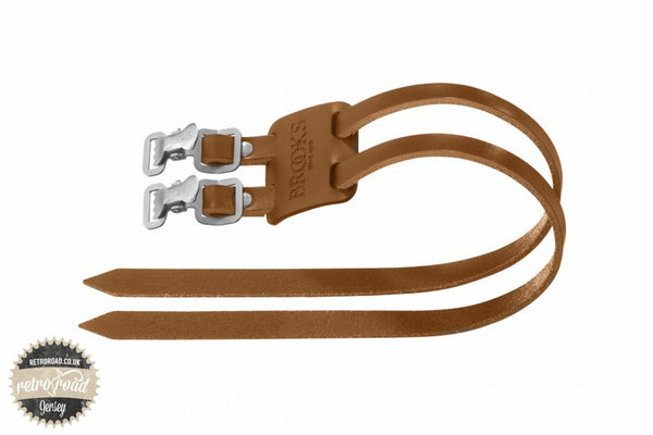 Brooks Toe Straps - Honey - Retro Road