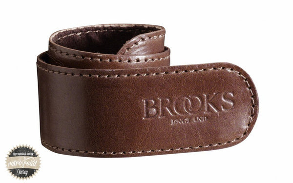 Brooks Trouser Strap - Brown - Retro Road