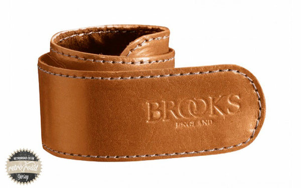 Brooks Trouser Strap - Honey - Retro Road