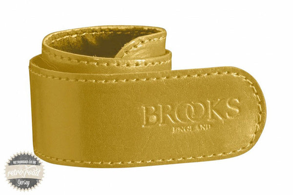 Brooks Trouser Strap - Ochre - Retro Road