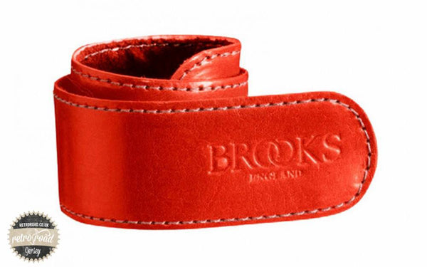 Brooks Trouser Strap - Red - Retro Road