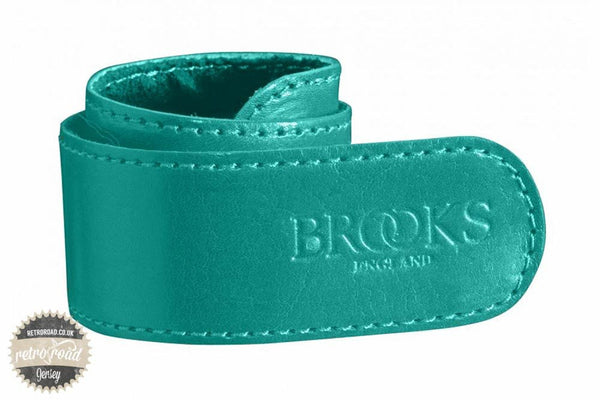 Brooks Trouser Strap - Turquoise - Retro Road