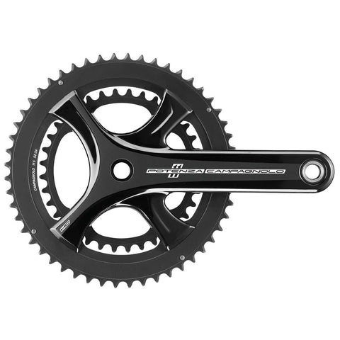 Campagnolo Potenza11 HO Ultra-Torque 11speed Chainset - Black - Retro Road