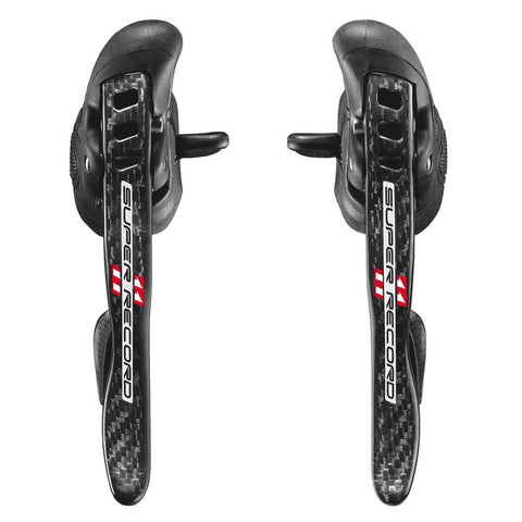 Campagnolo Super Record Ultra-Shift 11Speed Ergos Gear Levers (EP15-SR1C) - Retro Road