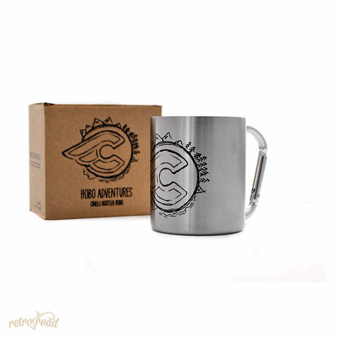 Cinelli Alloy Drinks Mug - Retro Road
