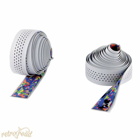 Cinelli Caleido Bar Bar Tape - White - Retro Road
