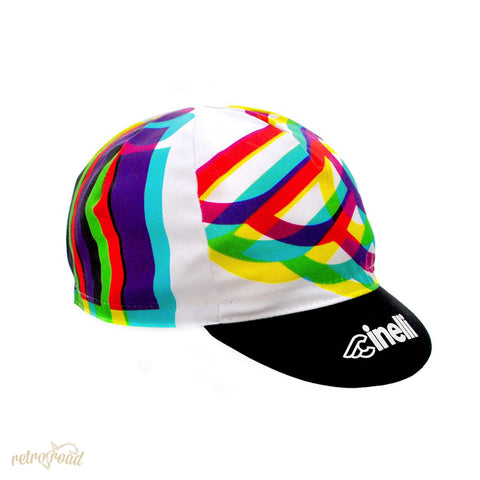 Cinelli Caleido Cotton Cap - Retro Road