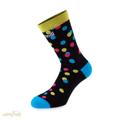 Cinelli Caleido Dots Socks - Retro Road