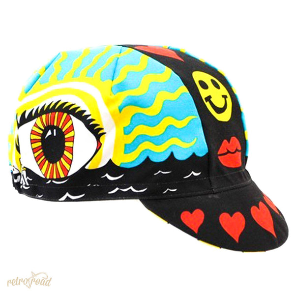 Cinelli Eye of The Storm Cotton Cap - Retro Road