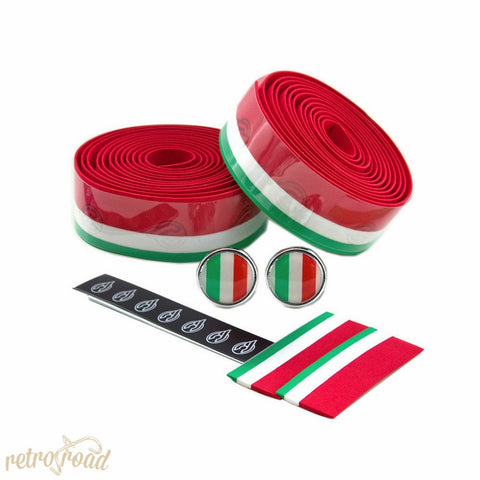 Cinelli Italian Flag Cork Bar Tape - Retro Road