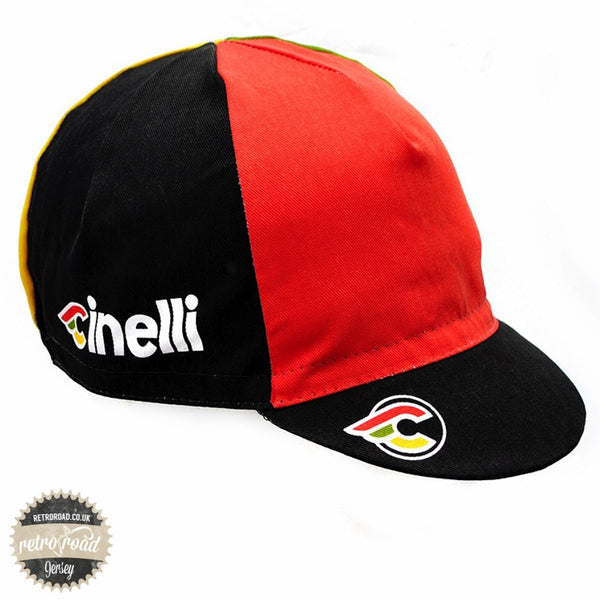 Cinelli Italo '79 Cotton Cap - Black - Retro Road