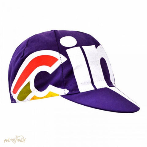 Cinelli Nemo Tig Cap - Purple - Retro Road