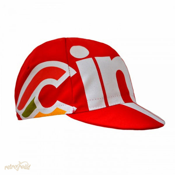 Cinelli Nemo Tig Cap - Red - Retro Road