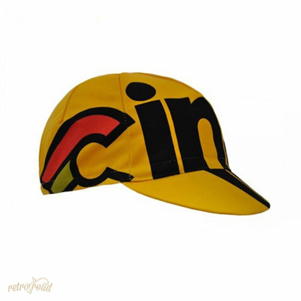 Cinelli Nemo Tig Cap - Yellow - Retro Road