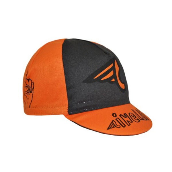 Cinelli Russ Pope 2017 Cap - Orange - Retro Road