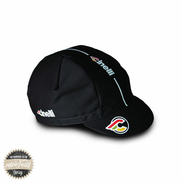 Cinelli Supercorsa Black Cap - Retro Road