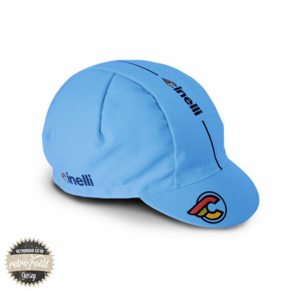 Cinelli Supercorsa Lazer Blue Cap - Retro Road