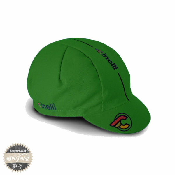 Cinelli Supercorsa Green Cap - Retro Road