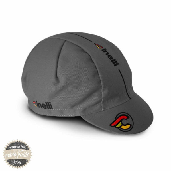 Cinelli Supercorsa Grey Cap - Retro Road