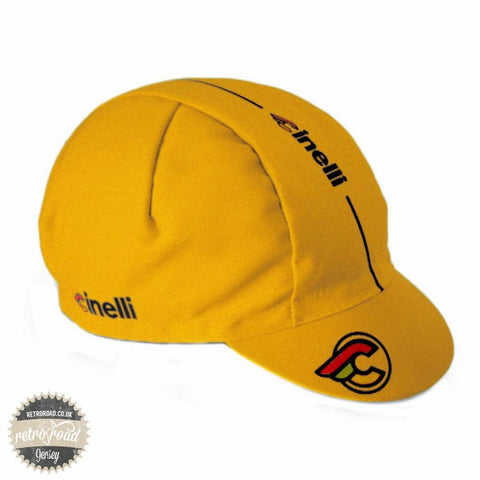 Cinelli Supercorsa Yellow Cap - Retro Road