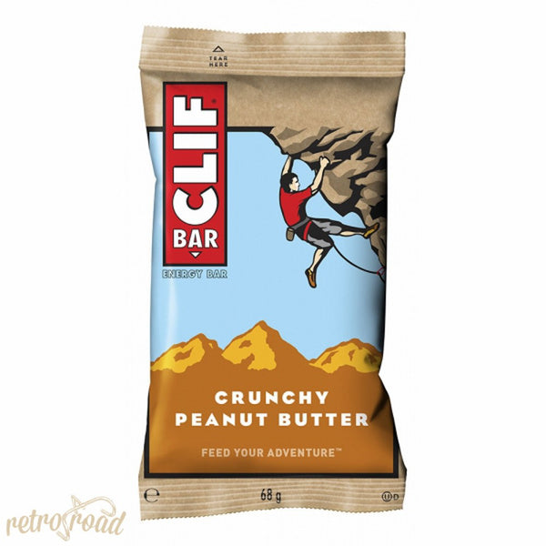 Clif Bar - Crunchy Peanut Butter Flavor - Retro Road  - 1