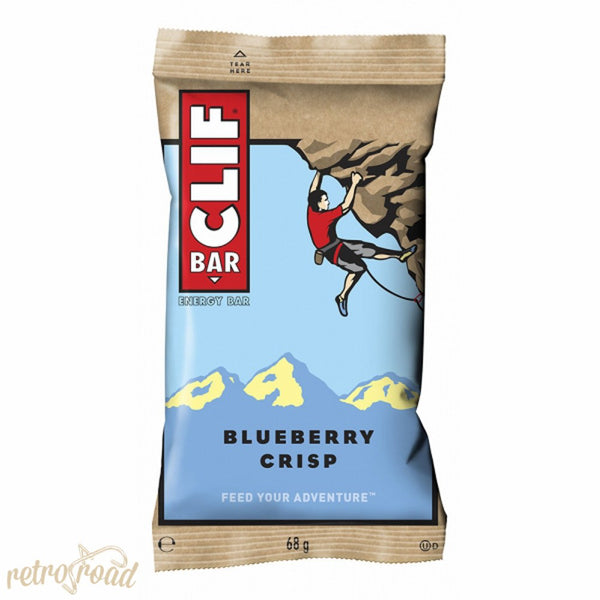 Clif Bar - Blueberry Crisp Flavor - Retro Road