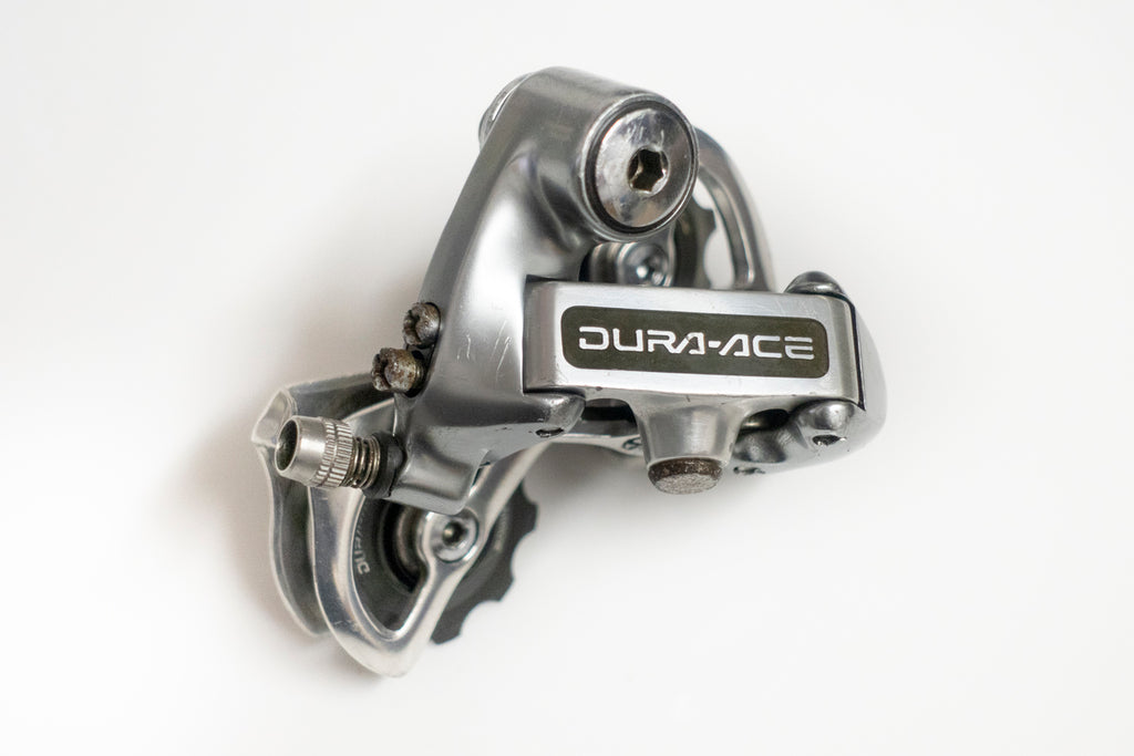 Good Shimano Dura-Ace RD-7402 Rear Derailleur 8 Speed Short Cage
