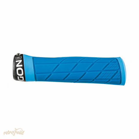 Ergon GE1 Grips - Blue - Retro Road