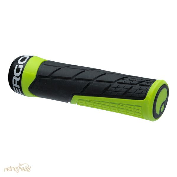 Ergon GE1 Grips - Green - Retro Road