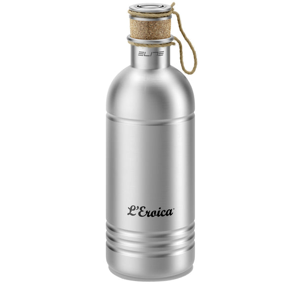 Elite - Eroica Aluminium Bottle With Cork Stopper - Retro Road