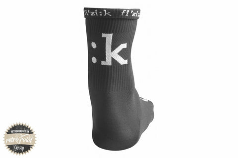 Fizik Summer Socks - Black - Retro Road  - 2